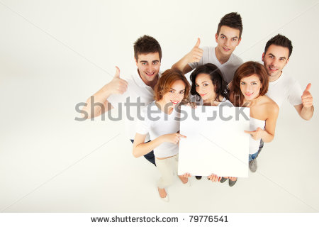 stock-photo-team-of-casual-young-people-holing-blank-banner-79776541
